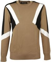 Neil Barrett Retro Modernist Knitted Sweater