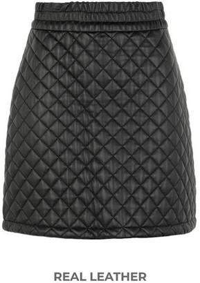 8 By YOOX Knee length skirt