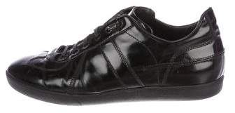 Christian Dior B01 Patent Leather Low-Top Sneakers