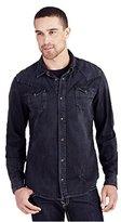 True Religion Men's Ryan Western Shirt