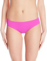 Oakley Women's Core Solids Shirred Bikini Bottom