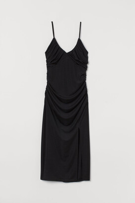 H&M Draped Dress - Black