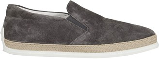 Tod's Tods Woven Trim Sneakers