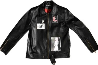 Misbhv Black Leather Jackets