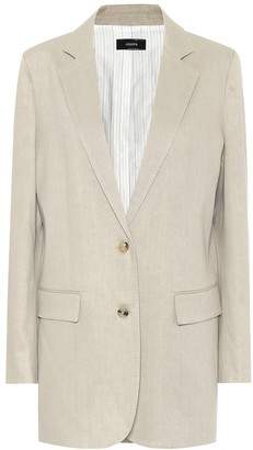 Joseph Mayfield stretch linen-blend blazer
