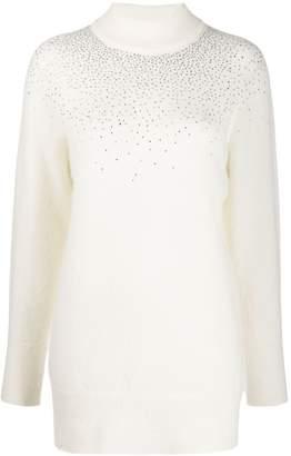 Blumarine crystal embellished jumper