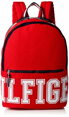 Tommy Hilfiger unisex adults Patriot Colorblock Canvas Backpack