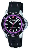 Wenger Field Classic Women's Quartz Watch with Dial Analogue Display and Silicone Strap 010621103