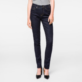 Paul Smith Women's Indigo Denim High-Waisted Skinny Jeans