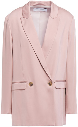 IRO Caring Double-breasted Twill Blazer