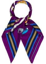 Hermes Couvertures et Tenues de Jour Silk Scarf