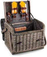 Picnic Time 8Pc Kabrio Wine And Cheese Basket
