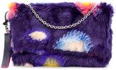 Paul Smith faux fur circle print shoulder bag