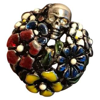 Alexander McQueen Multicolour Metal Rings