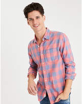 Aeo AE Lightweight Flannel Shirt