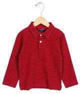 Oscar de la Renta Boys' Striped Collared Shirt