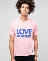 Love Moschino Bubble Logo T-shirt