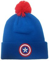 Marvel Captain America Shield Official New Bobble Hat