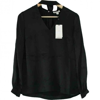 Whistles Black Silk Top for Women