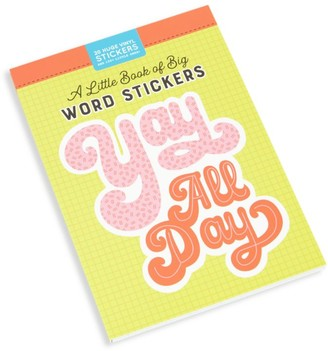 Workman Publishing A Little Book of Big Word Stickers