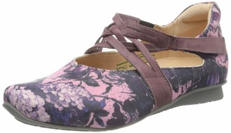 Think! Women's 686109_Chilli Ankle Strap Ballet Flats