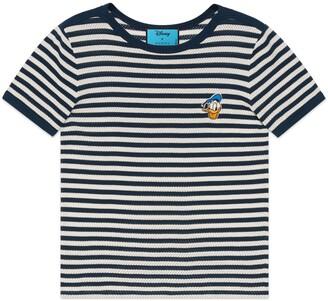 Gucci Disney x Donald Duck Striped T-shirt