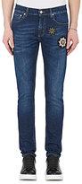 Alexander McQueen Men's Appliquéd Skinny Jeans