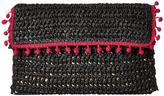 San Diego Hat Company BSB1703 Rectangular Paper Crochet Clutch Clutch Handbags