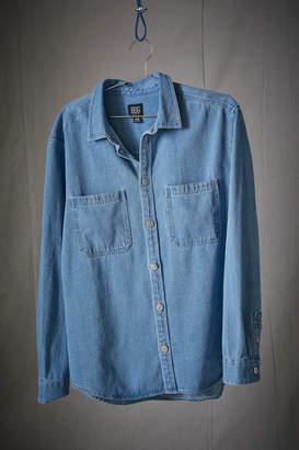BDG Denim Button-Down Overshirt
