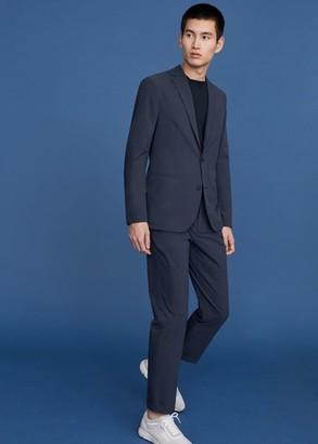 MANGO Slim fit suit blazer