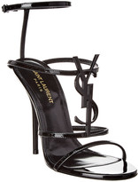 Saint Laurent Cassandra 110 Leather Sandal