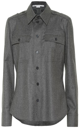 Stella McCartney Wool-blend shirt