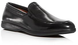 Gentle Souls by Kenneth Cole Men's Stuart Leather Apron-Toe Loafers