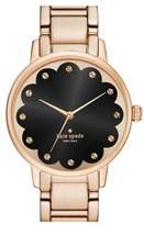Kate Spade 'gramercy' Scalloped Dial Bracelet Watch, 34mm