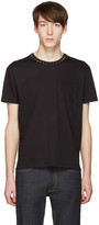 Valentino Black Studs T-Shirt