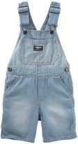 Osh Kosh Baby Boy Hickory Striped Denim Shortalls