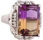 Ring Ametrine & Diamond