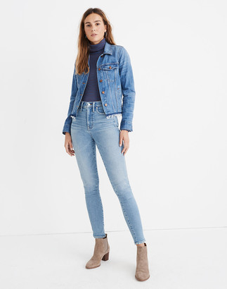 "Madewell 10"" High-Rise Skinny Jeans in Hamden Wash"