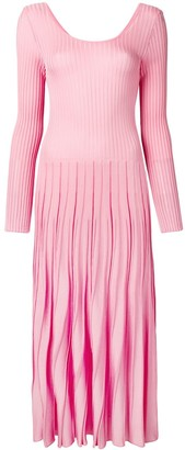 MSGM Ribbed Knit Dress