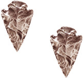 Pamela Love Mini Arrowhead Earringsin Rose Gold
