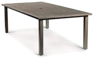"""Eddie Bauer Horizon Aluminum Dining Table Table Top Size: 43.5"""" W x 96"""" L"""