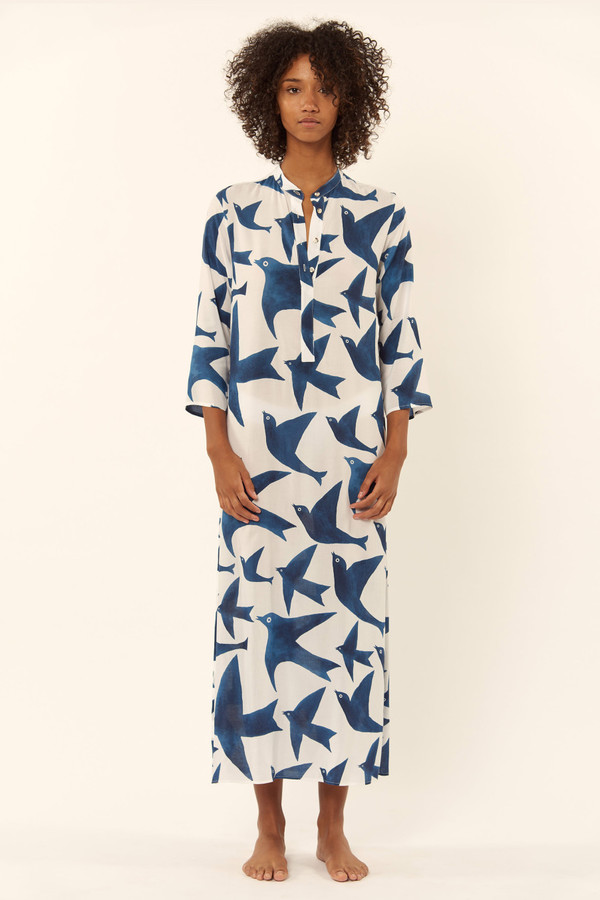 Mara Hoffman Button Front Coverup