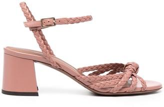 L'Autre Chose Braided Strap Sandals