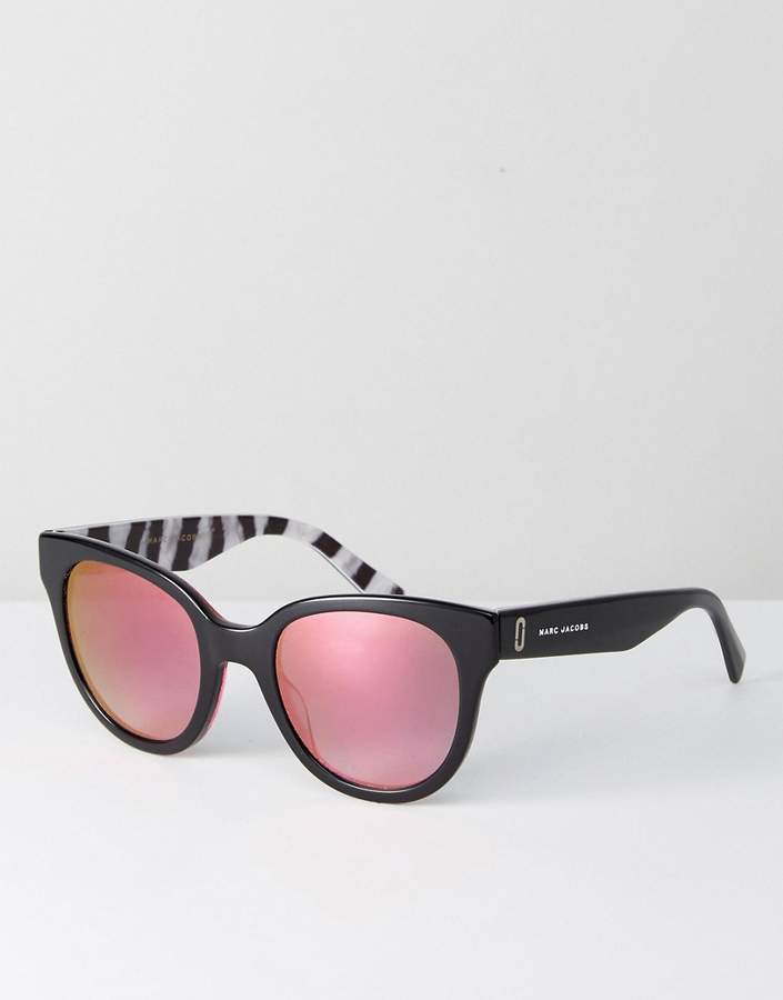 Marc Jacobs 231/s round sunglasses in black