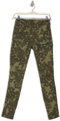 Powel Mid Skinny Printed Pants