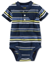 Carter's Striped Henley Bodysuit, Baby Boys (0-24 months)