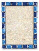 "Jay Strongwater Pierce Striped 5"" x 7"" Frame"