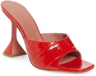 Amina Muaddi Lupita Slide Pump Sandal