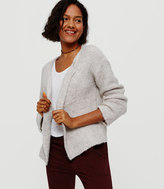 Lou & Grey Cloud Boucle Open Cardigan