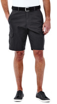 Haggar Ripstop Cargo Short - Classic Fit, Flat Front, Expandable Waistband
